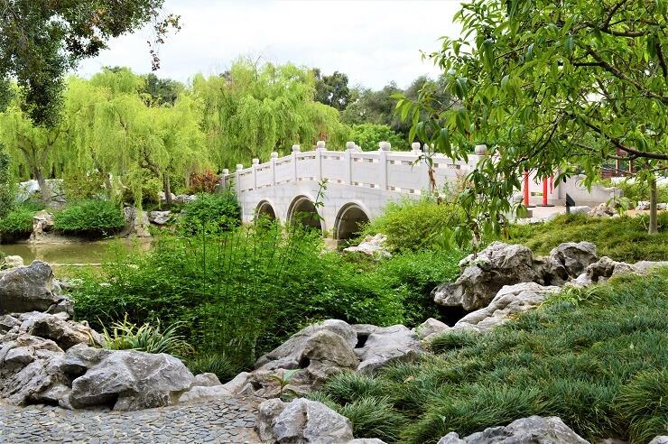 Мост в Китайском саду