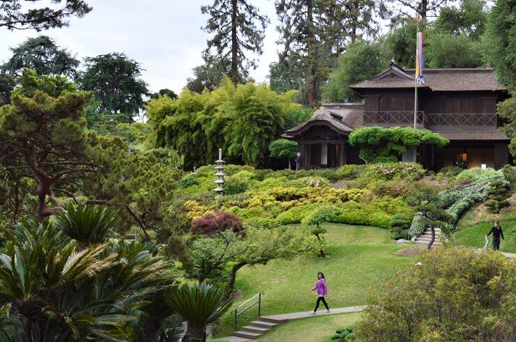 Японский сад в ботаническом саду Хантингтона