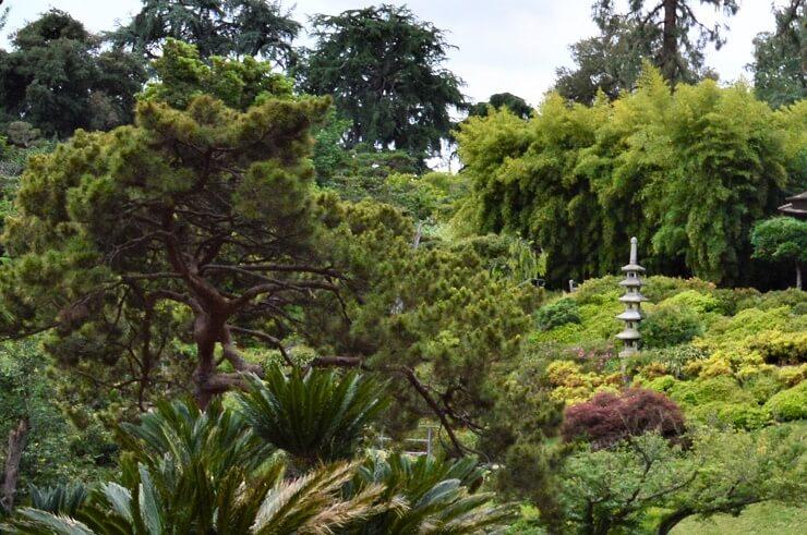 Пагода в ботаническом саду Хантингтона