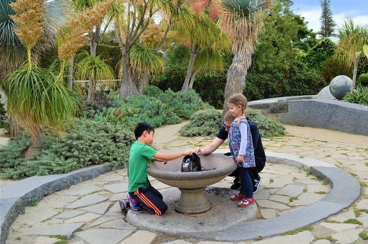 Детский сад в ботаническом саду Хантингтона