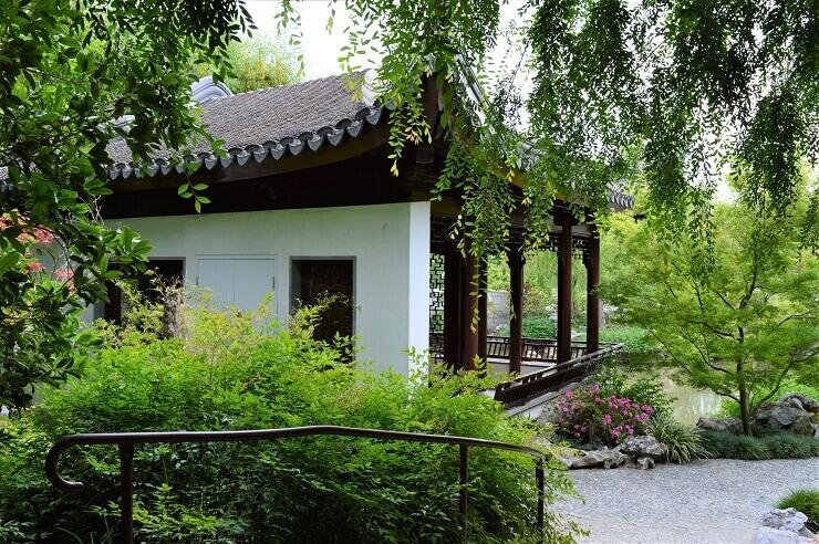 Китайский сад в ботаническом саду Хантингтона