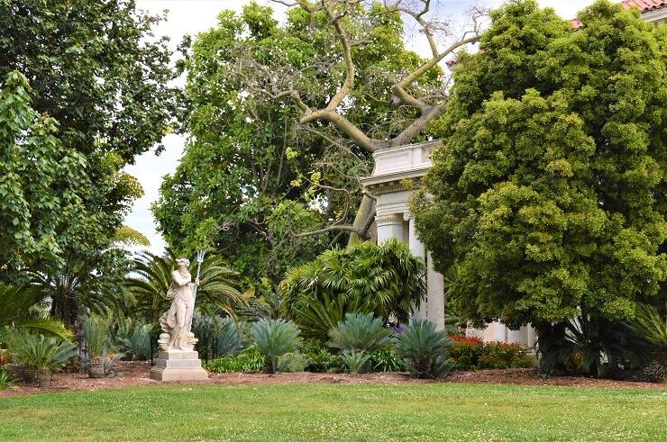 Ботанический сад и библиотека Хантингтона в Сан-Марино