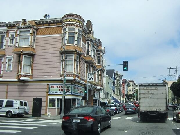 Малоэтажные строения Сан-Франциско