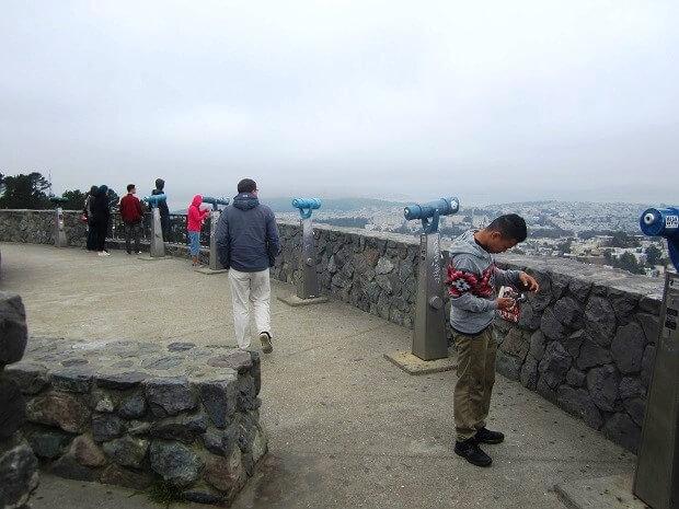 Телескопы на северном холме Твин Пикс