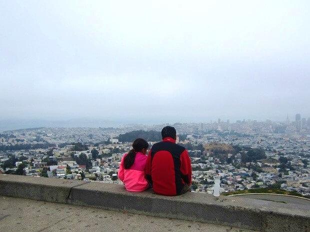 Посидеть над Сан-Франциско