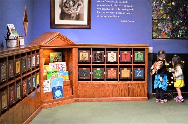 Детский музей в Сан-Хосе. Библиотека