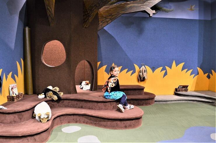 Детский музей в Сан-Хосе. Домик в дереве