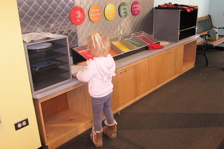 Детский музей в Сан-Хосе. Мороженое