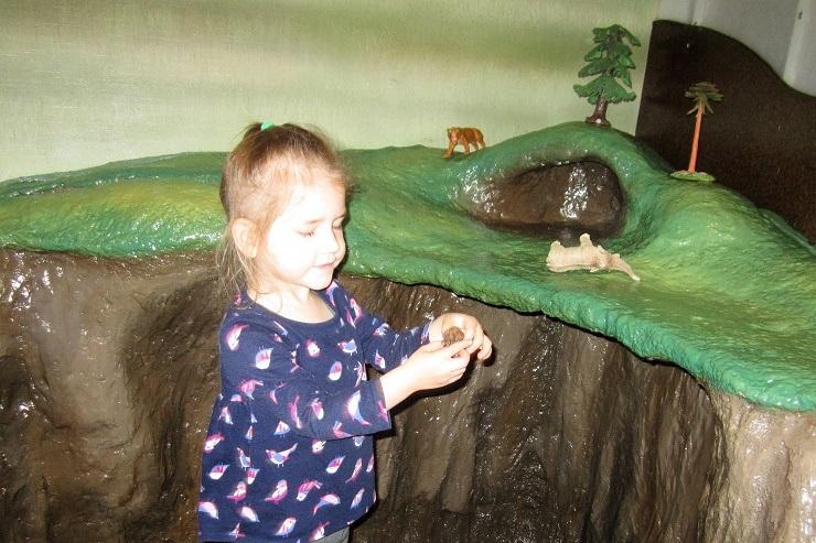 Детский музей в Сан-Хосе. Доисторические животные