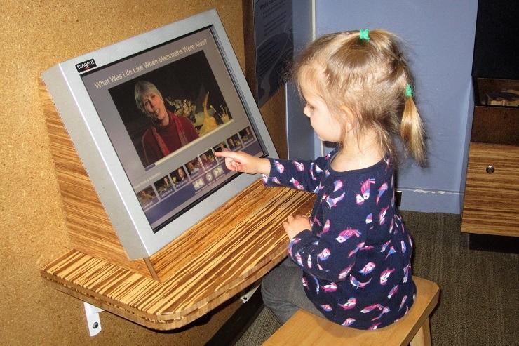Детский музей в Сан-Хосе. Компьютер
