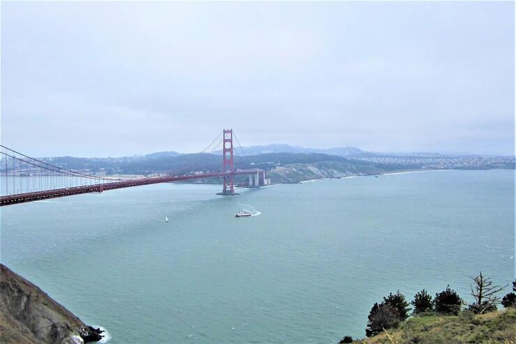 Мост Золотые ворота в тумане