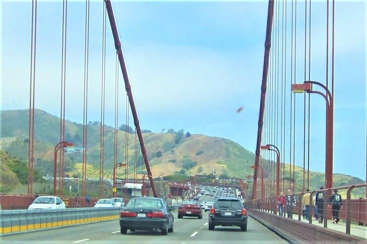 Холмы у моста Золотые Ворота