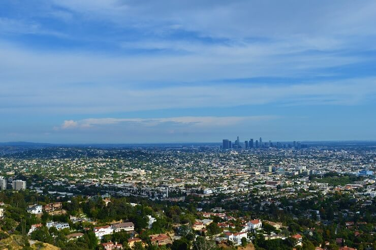 Высотные здания Лос-Анджелеса