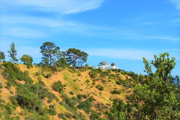 Вид на обсерваторию Гриффита