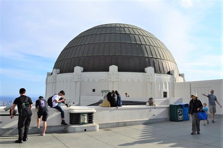 Один из куполов обсерватории Гриффита