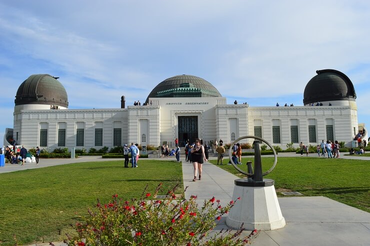Обсерватория Гриффита и солнечные часы
