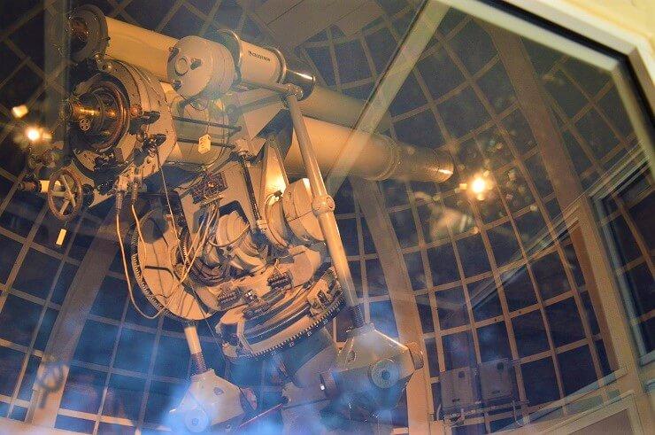 Телескоп в обсерватории Гриффита