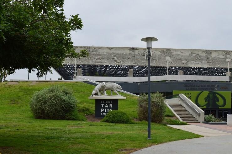 Музей Ла-Бреа в Лос-Анджелесе