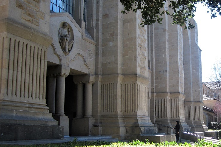 Прогулка по территории Стэндфордского университета