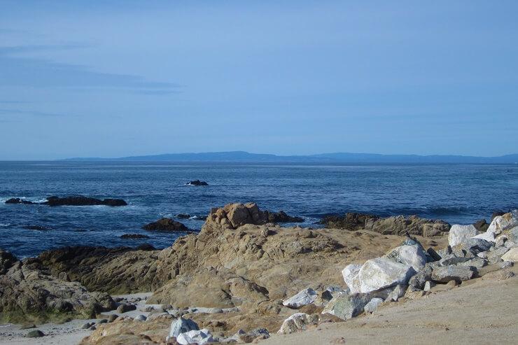 Океан в районе 17-мильной дороги