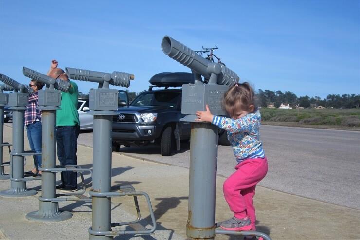 Телескопы на берегу Тихого океана