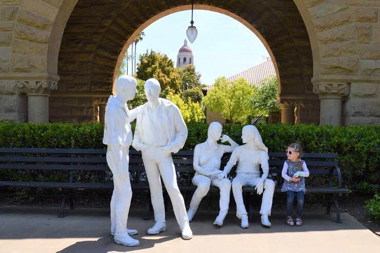 Скульптура Студенты в Стенфорде
