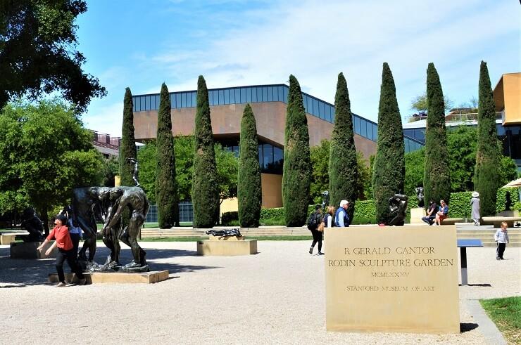 Вход в Сад скульптур Родена