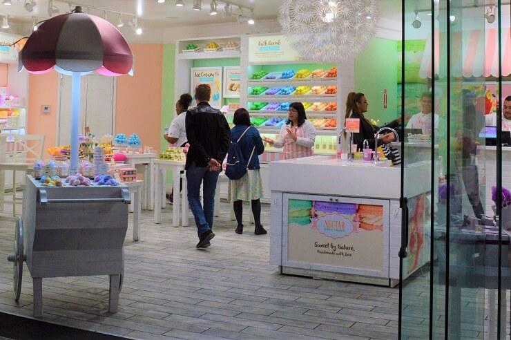 Магазин Nectar Bath Treats на CityWalk