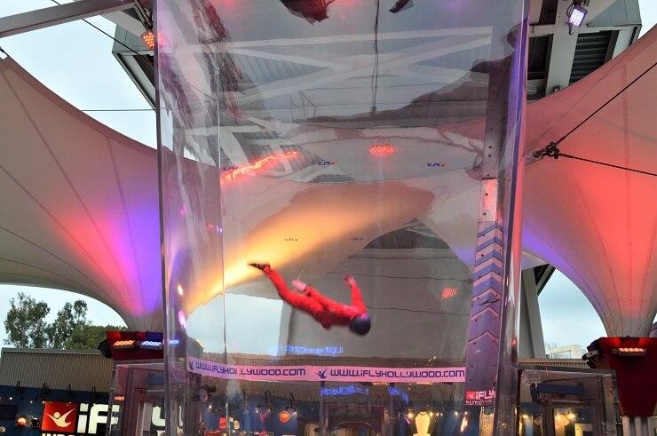 Аттракцион Прыжок с парашютом