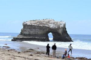 Пляж «Естественные мосты» в Санта-Круз