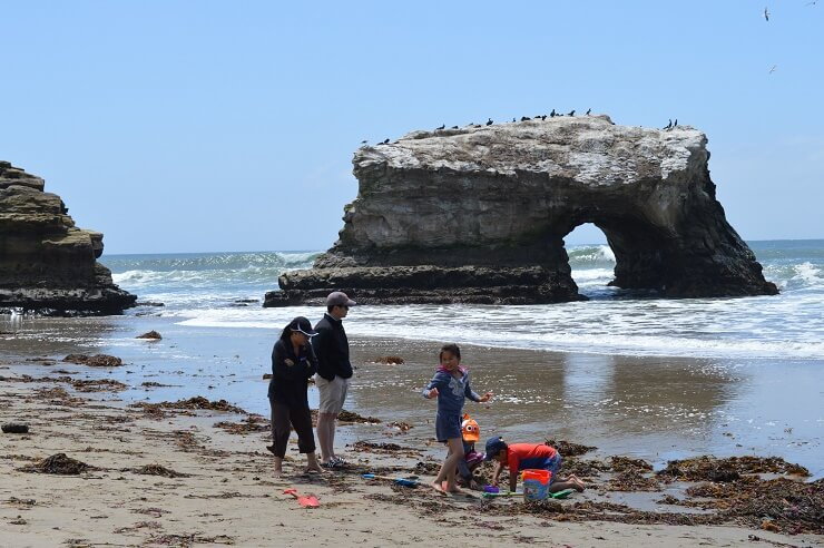 Мост на пляже Естественные мосты в 2019 году