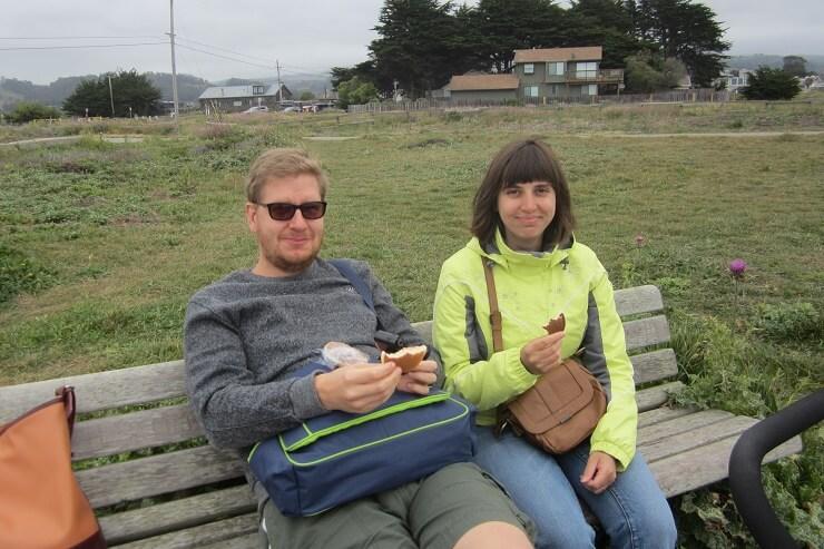 Обед на берегу Тихого океана