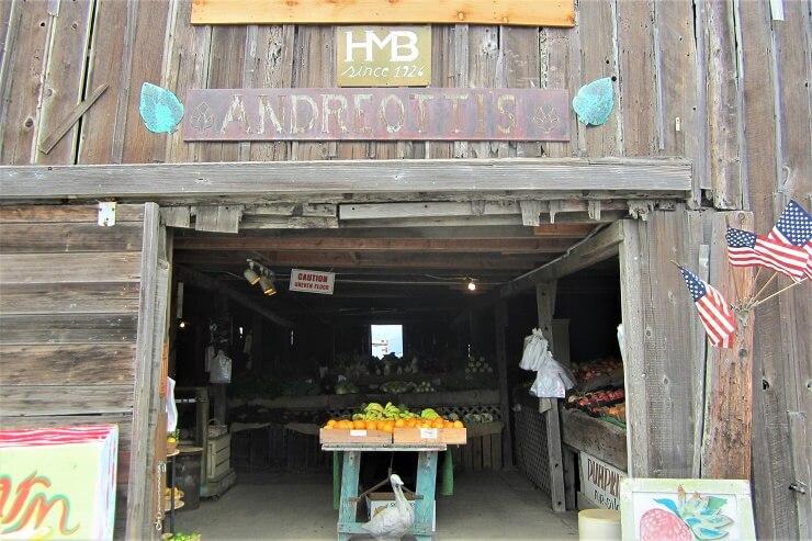 Фермерский магазин в Калифорнии