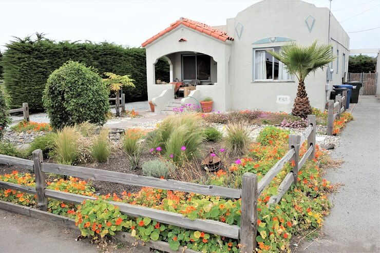 Дом в Калифорнии, на берегу океана