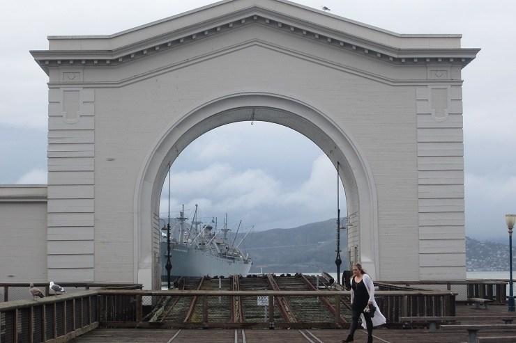 Сан-Франциско. Транспортный пароход «Джеремайя ОБрайен».